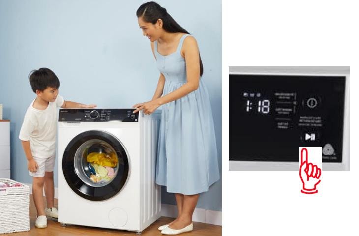 Tính năng thêm đồ khi đang giặt - Máy giặt Toshiba Inverter 8.5 kg TW-BH95M4V