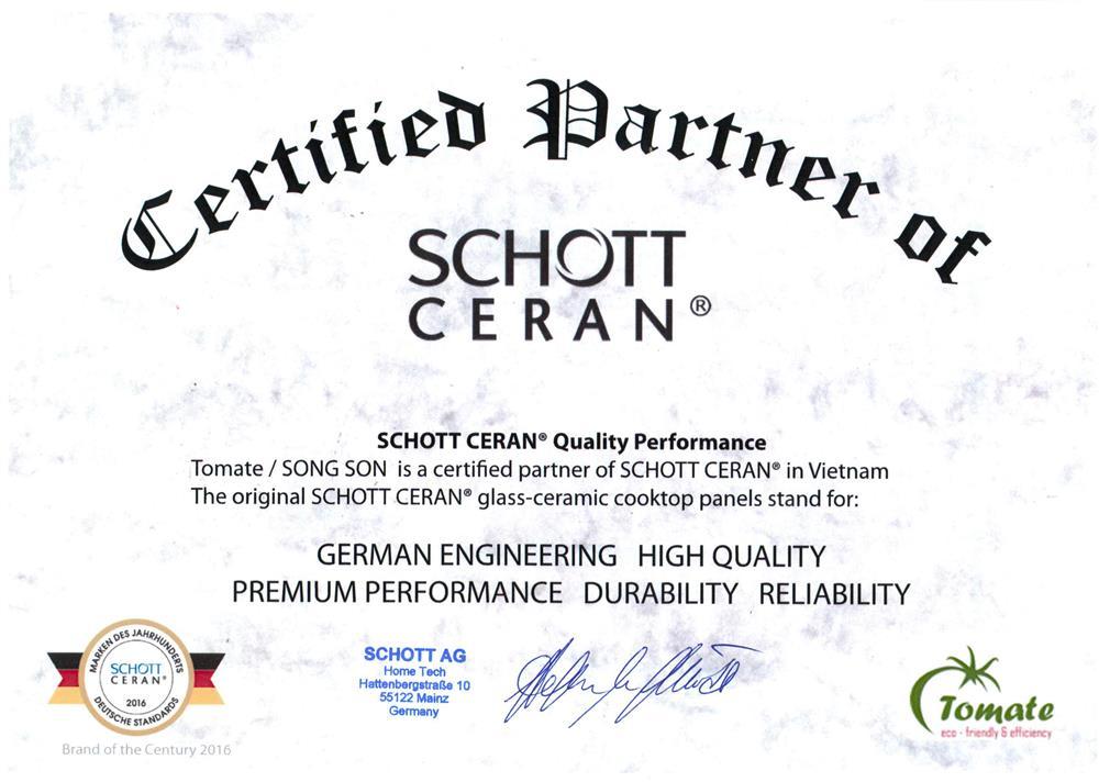TOMATE là đối tác chính thức của SCHOTT CERAN.jpg